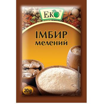 Імбир Еко мелений 20г - купити, ціни на CітіМаркет - фото 1