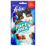 Ласощі для котів Felix Party Mix Океанічний мікс 60г