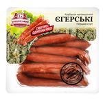 Колбаски Бащинский Егерские полукопченые первый сорт 240г