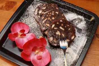 Десертная колбаса с коньяком