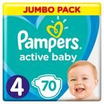 Pampers Jumbo Maxi 4 Diapers 9-14kg 70pcs