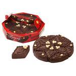 Торт Бисквит Шоколад Триумф шоколадно-вафельный 1кг