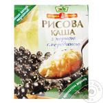 Eko Velyka Lozhka Rice Porridge with Black Currant 51g