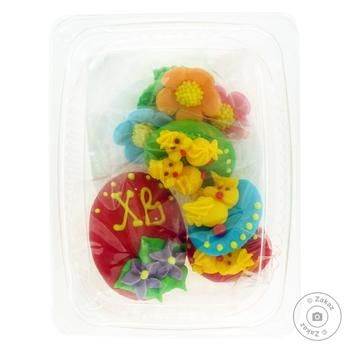 Ukrasa Set of Easter Eggs with Chickens - buy, prices for Furshet - image 1