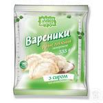 Vareniki Belaya byaroza with cheese frozen 333g
