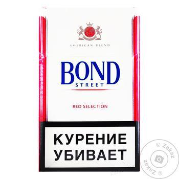 Сигареты Bond Street Red Selection - купить, цены на Ашан - фото 1