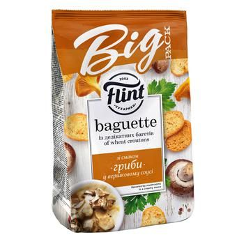 Flint Baguette Mushroom in Creamy Sauce Flavored Wheat Crackers 150g - buy, prices for CityMarket - photo 1