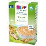 Каша HiPP Овсяная безмолочная органическая без сахара для детей с 5 месяцев 200г