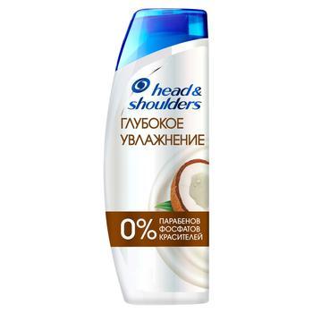 Шампунь против перхоти Head & Shoulders Глубокое увлажнение с кокосовым маслом 400мл