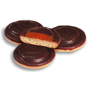 Печенье Фуршет Галиция в шоколаде вишня - купить, цены на Фуршет - фото 1