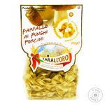 Макароны Tarall`oro Farfalle с белыми грибами 250г