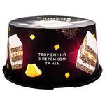 Торт Вrioshe Творожний з персиком та чіа 500г