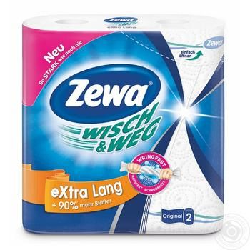 Zewa Wisch&Weg Kitchen Paper Towels 2rolls - buy, prices for Metro - image 1
