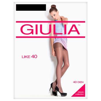 Колготки жіночі Giulia Like 40D Nero 2