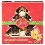Набор новогодний Hamlet Winter Елка шоколадные фигурки с начинкой из орехового крема 250г