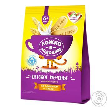 Растворимое печенье Ложка в Ладошке детское 6 месяцев 150г - купить, цены на Фуршет - фото 2