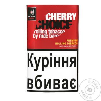 Табак Mac Baren Cherry Choice для сигарет 40г