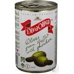 Diva Oliva Green Cucumber Stuffed Olive