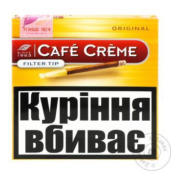 Сигари Cafe Creme filter tip origin - купити, ціни на CітіМаркет - фото 1