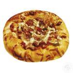 Пицца-снек с колбасой