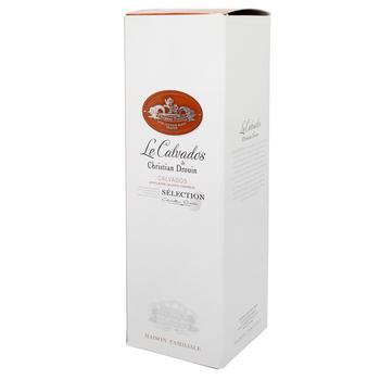 Christian Drouin Selection Box Calvados 40% 0,7l