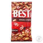 Арахис Best Nuts жареный со вкусом бекона 50г