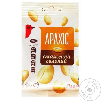 Auchan Roasted Salt Peanuts - buy, prices for Auchan - photo 1