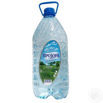 Вода питьева Прозора от природы негазированная 6л