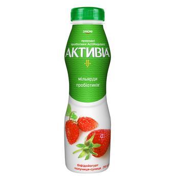 Activia Strawberry-Wild Strawberry Flavored Bifidoyogurt 1,5% 290g