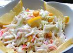 Крабовий салат з капустою
