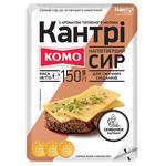 Сыр Комо Кантри со вкусом топленого молока 50% ломтики 150г