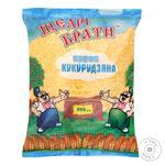 Крупа кукурузная Щедрі брати 800г - купить, цены на Ашан - фото 1