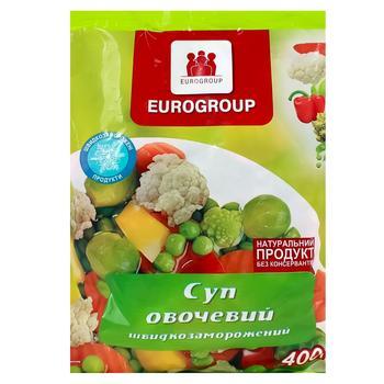 Смесь овощная Eurogroup Суп овощной 400г