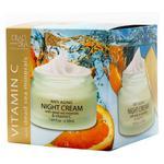 Dead Sea Collection Anti-aging Night Cream with Dead Sea Minerals and Vitamin C 50ml