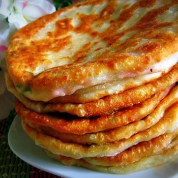 Сырные лепешки с цукини