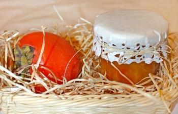 Варення із хурми й апельсина