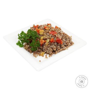 Каша гречана з овочами