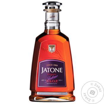 Tavria Jatone V.S.O.P. Cognac 40% 0,5l - buy, prices for CityMarket - photo 1