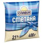 Slavia Sour cream 21% 400g