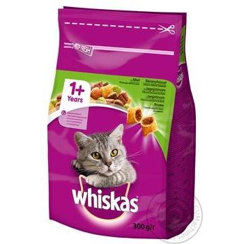 Корм сухой Whiskas для взрослых кошек с ягненком 300г - купить, цены на Novus - фото 2