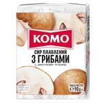 Сыр плавленый Комо с грибами 55% 75г