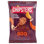 Чипсы Flint Chipster's картофельные волнистые со вкусом телятины с аджикой 120г - купить, цены на Novus - фото 1