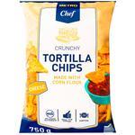 Чіпси Horeca Select Tortilla кукурудзяні зі смаком сиру 750г
