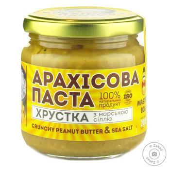 Master Bob Crispy Peanut Butter with Sea Salt 200g - buy, prices for Novus - image 1