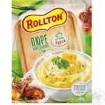 Пюре картофельное Роллтон со вкусом курицы 40г