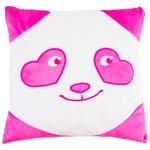 Tigres Panda Smiley in Love Pillow