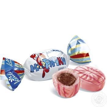 Конфеты Konti Рачки-морячки шоколадно -ореховая начинка
