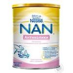 Смесь молочная Нестле Нан Антиколики сухая для детей с рождения 400г