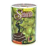 Оливки Senorita зеленые с косточкой 280г