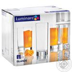 Набор стаканов Luminarc Исланд высокие 6х330мл шт